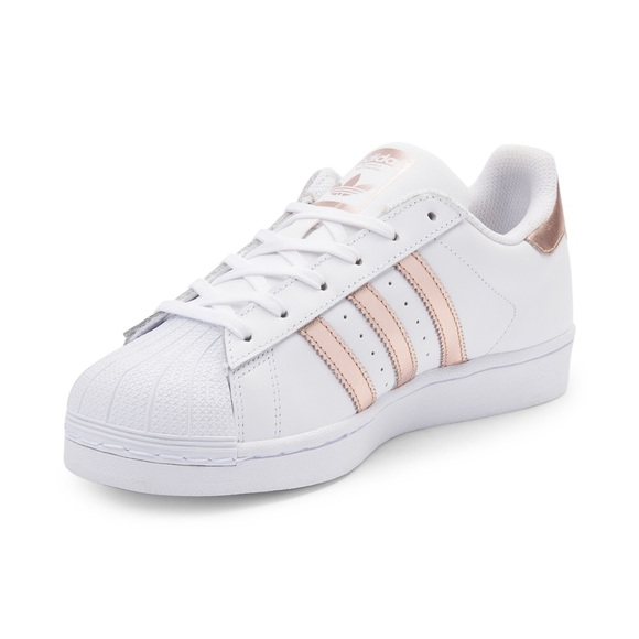Rose Gold Superstar Adidas
